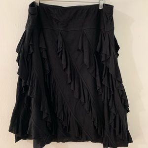 I.N.C ruffled skirt with elastic waist